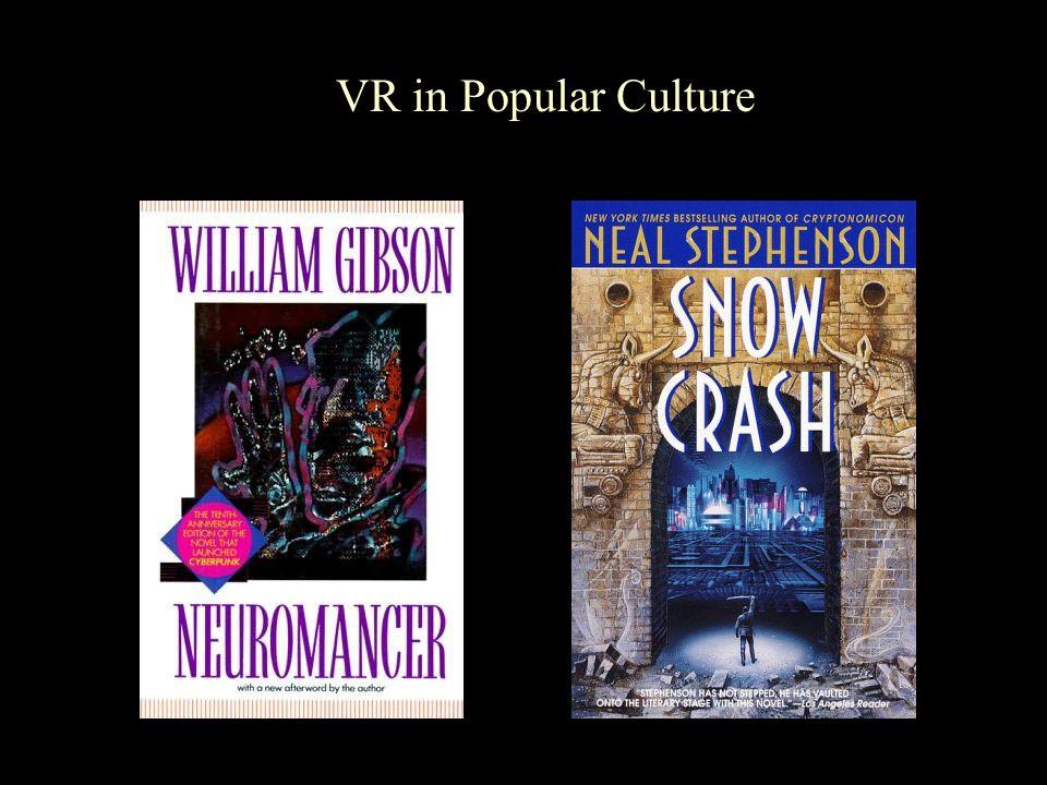 VR in Popular Culture