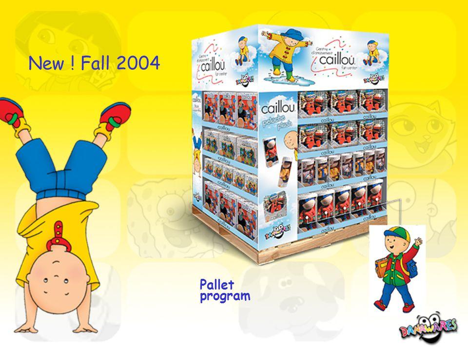 New ! Fall 2004 Pallet program