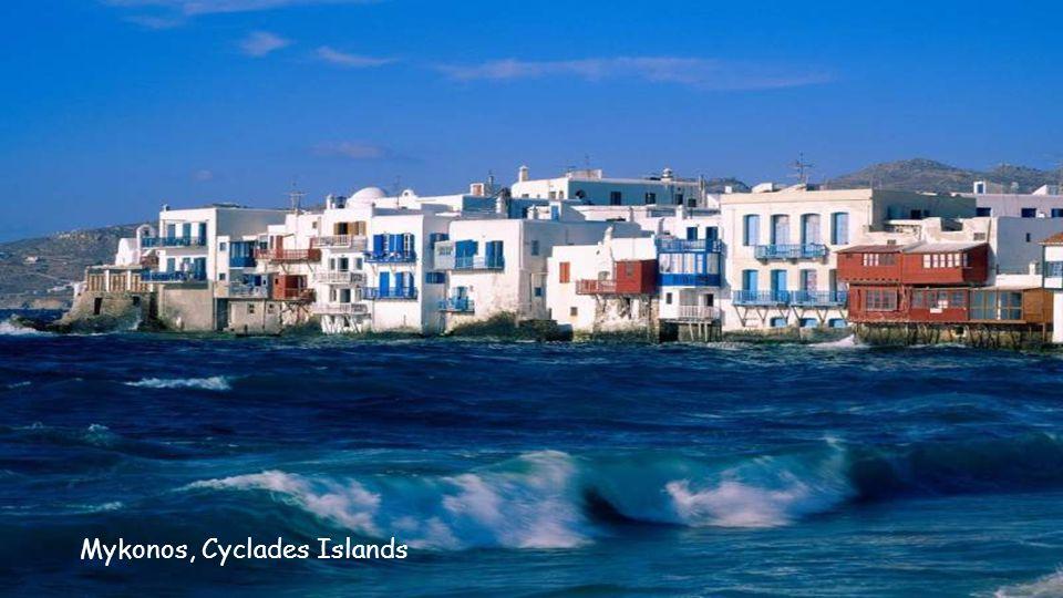 Mykonos Harbor, Cyclades