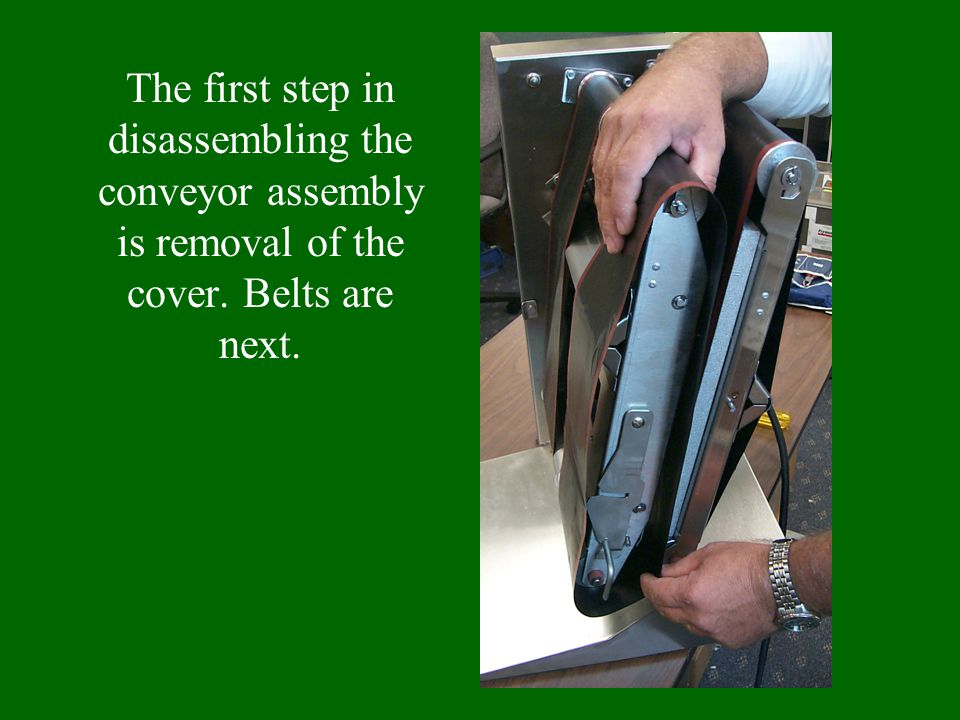 The platen back can then be removed.