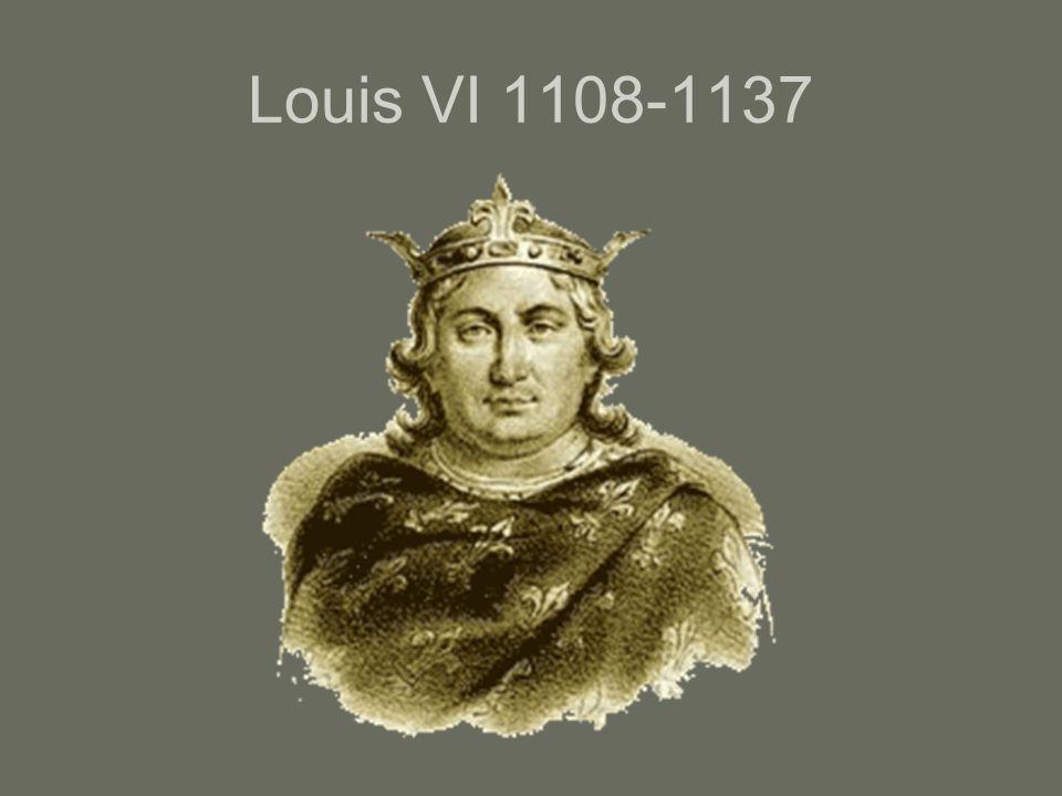 Louis VI 1108-1137