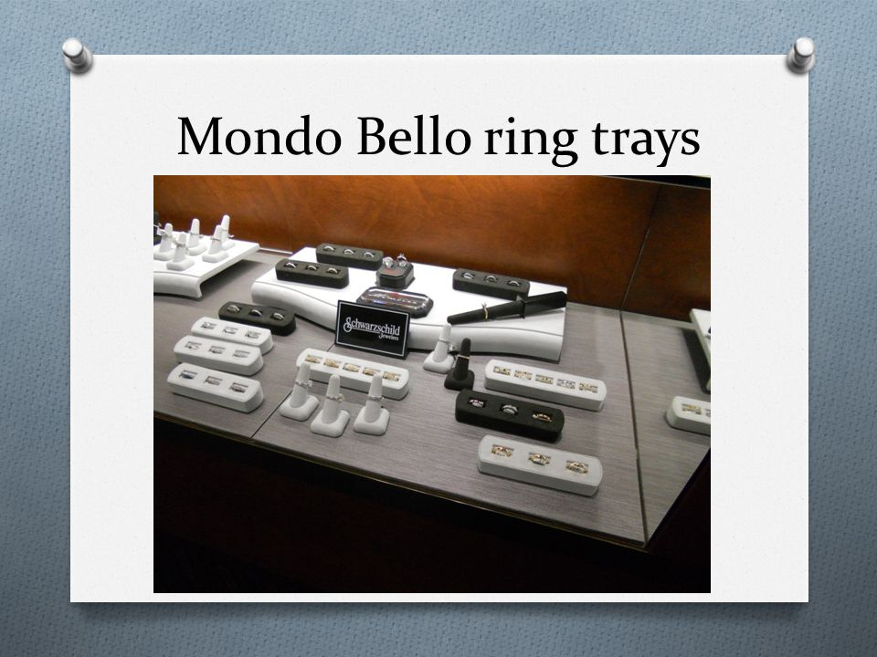 Mondo Bello ring trays