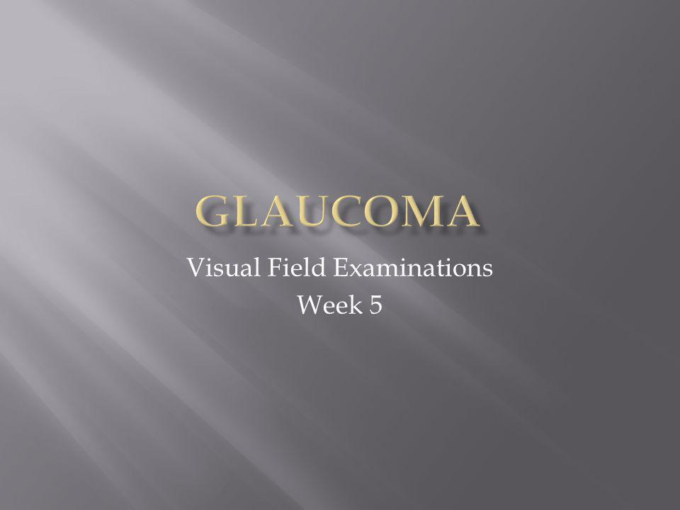 Glaucoma is a disease of the optic nerve.
