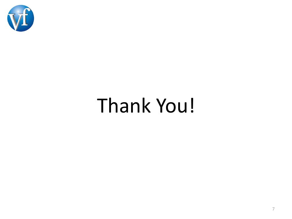 Thank You! 7