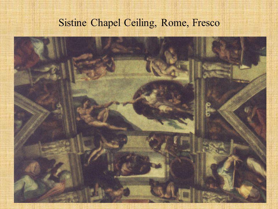Sistine Chapel Ceiling, Rome, Fresco