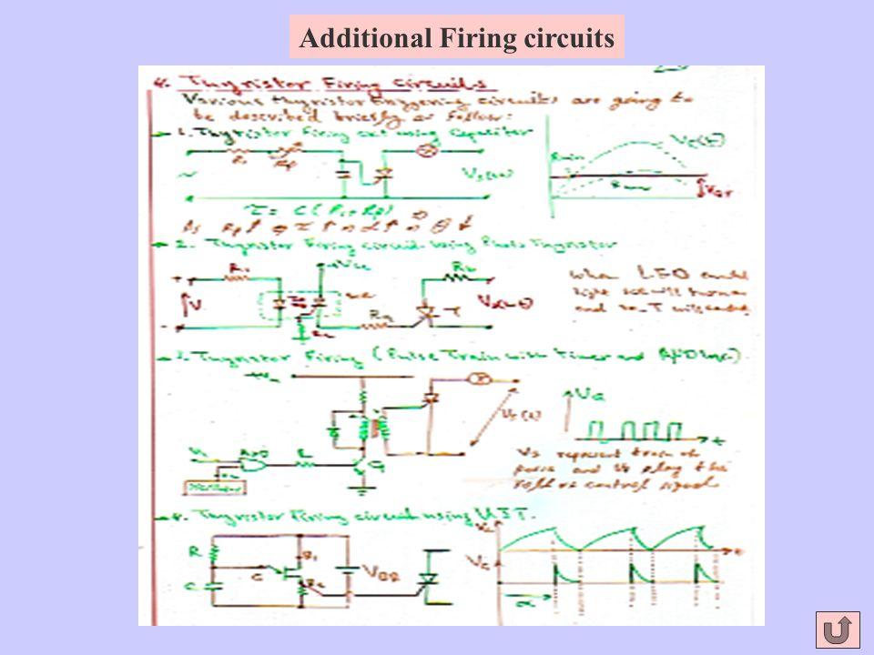 Additional Firing circuits