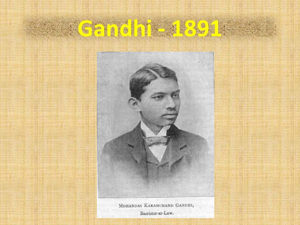 Gandhi - 1891