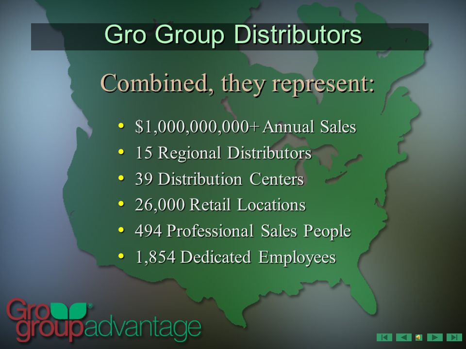 Who are the Gro Group Distributors. Who are the Gro Group Distributors.