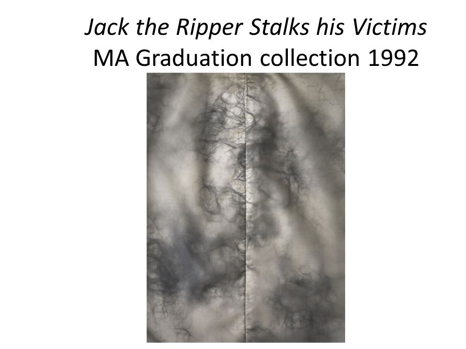 Jack the Ripper Stalks his Victims MA Graduation collection 1992