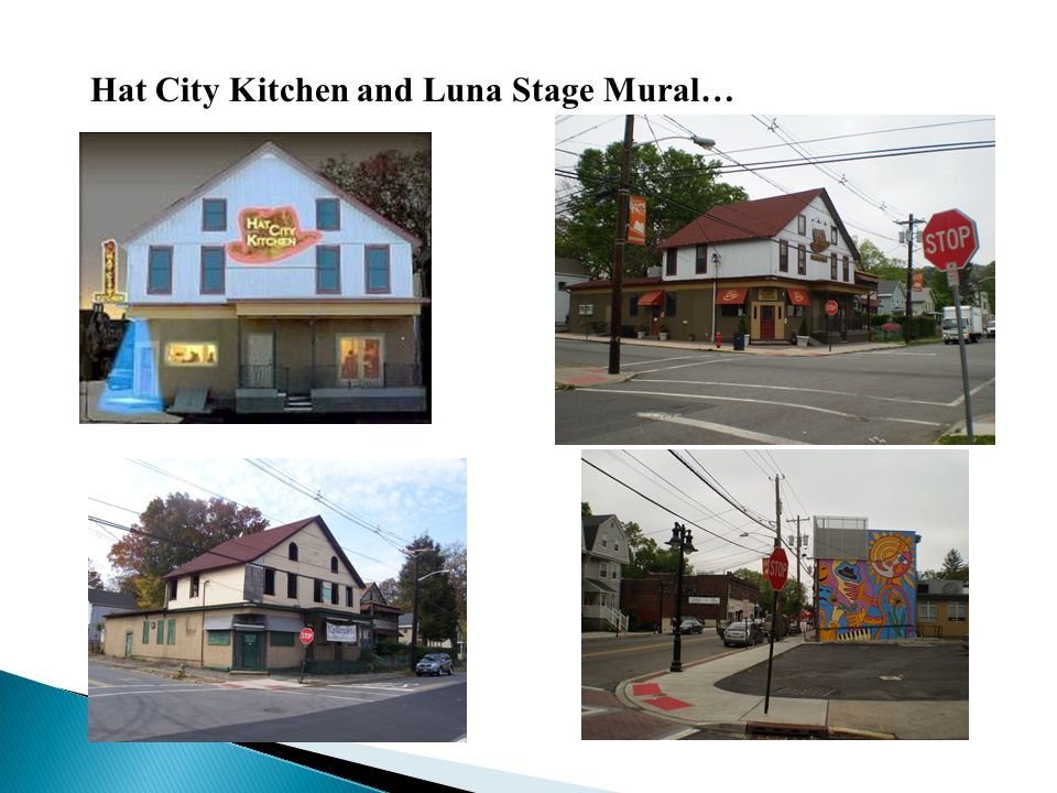 Hat City Kitchen and Luna Stage Mural…