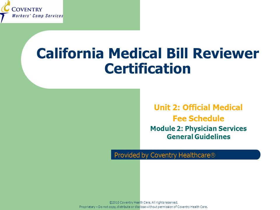 CA Regulations Training – Physicians ServicesMarch 2010 Special Service Codes CPT 99049: Missed Appointment.