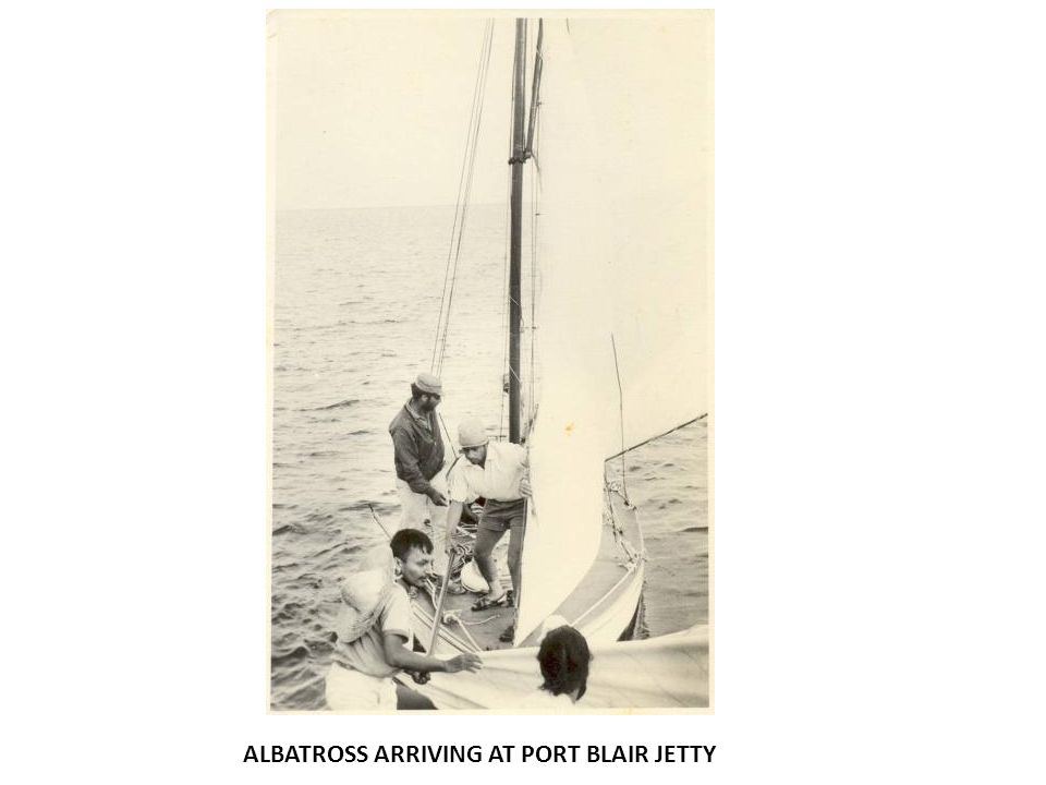 ALBATROSS ARRIVING AT PORT BLAIR JETTY
