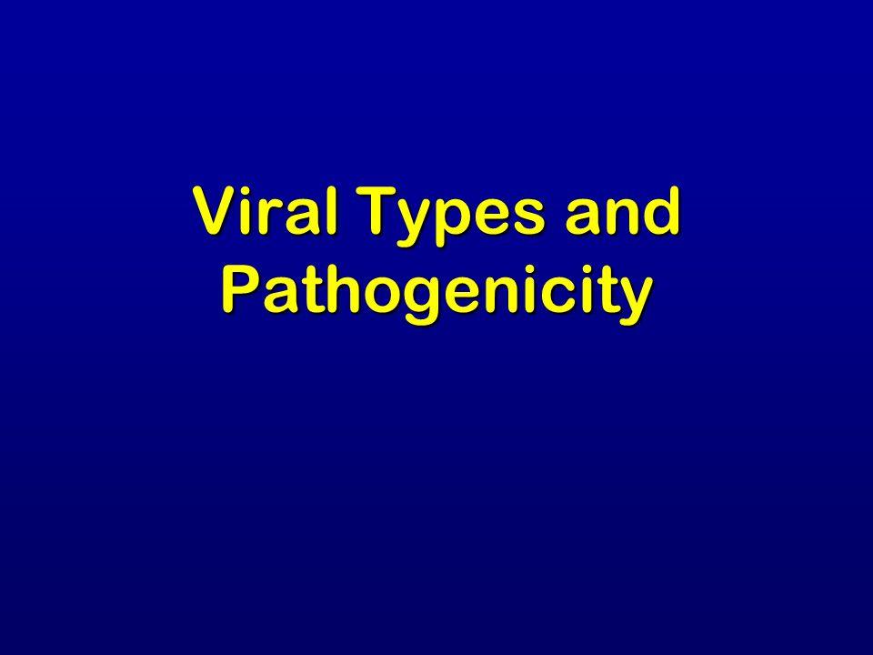 Viral Types and Pathogenicity