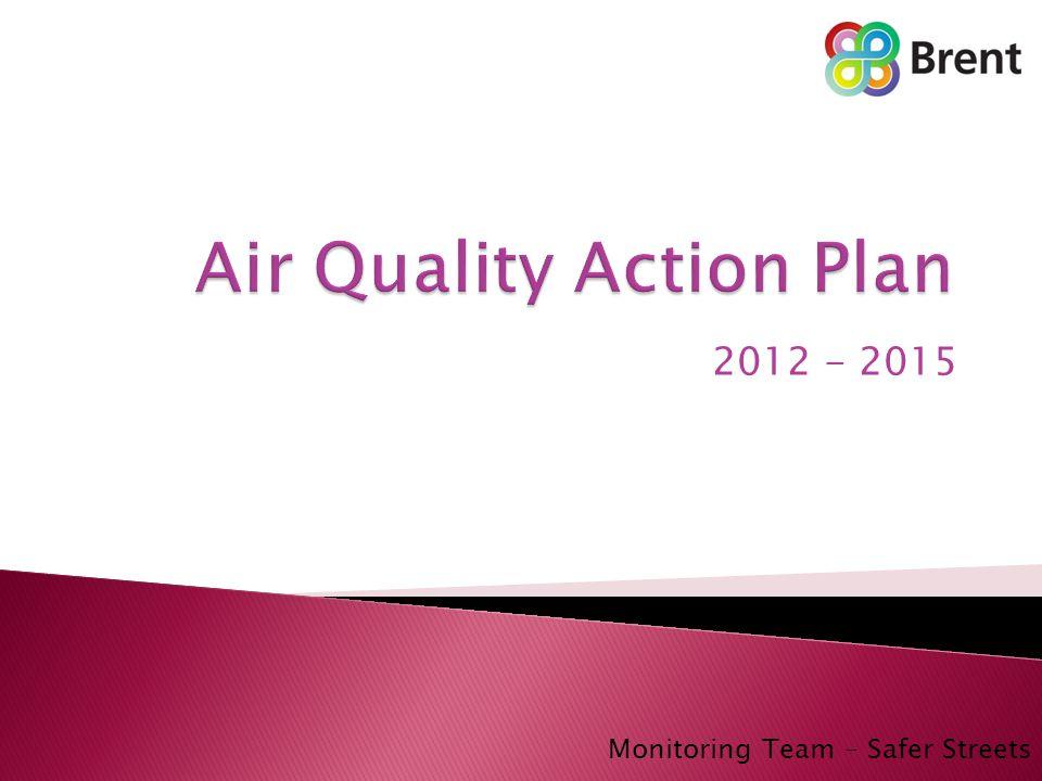 2012 - 2015 Monitoring Team – Safer Streets
