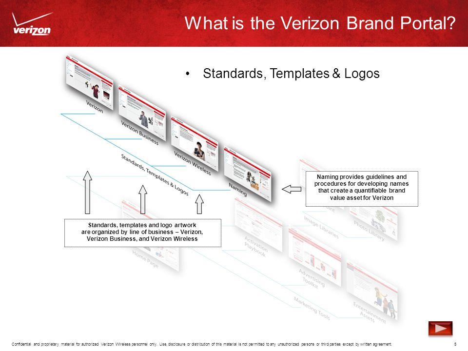What is the Verizon Brand Portal.