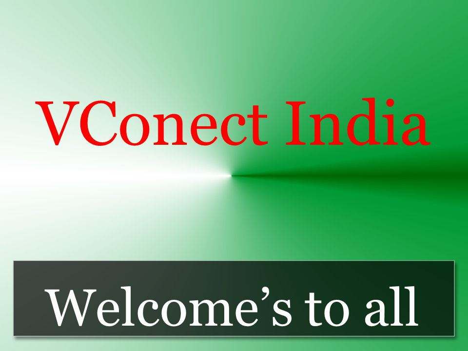 VConect India Welcome's to all