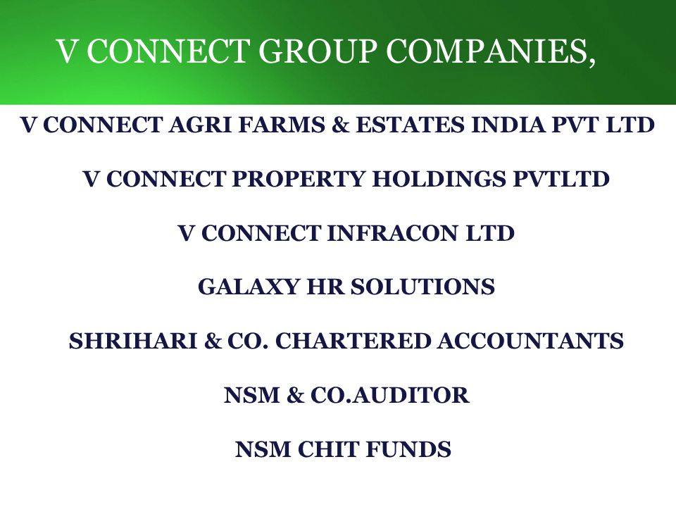 Our Company s Current Project s International Travel Division V Mart-Fancy Store V Mart-Super Market Agri jeevan water Division Infrastructure& Construction Property Holdings