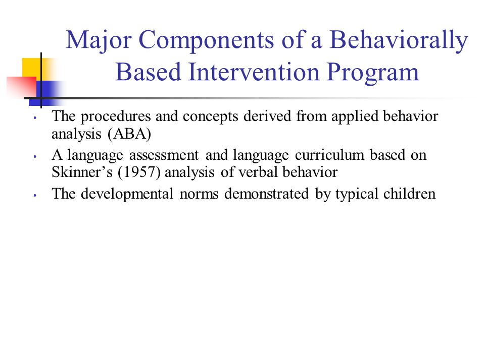 The Behavioral Classification of Language (Skinner, 1957) Mand: Asking for reinforcers.