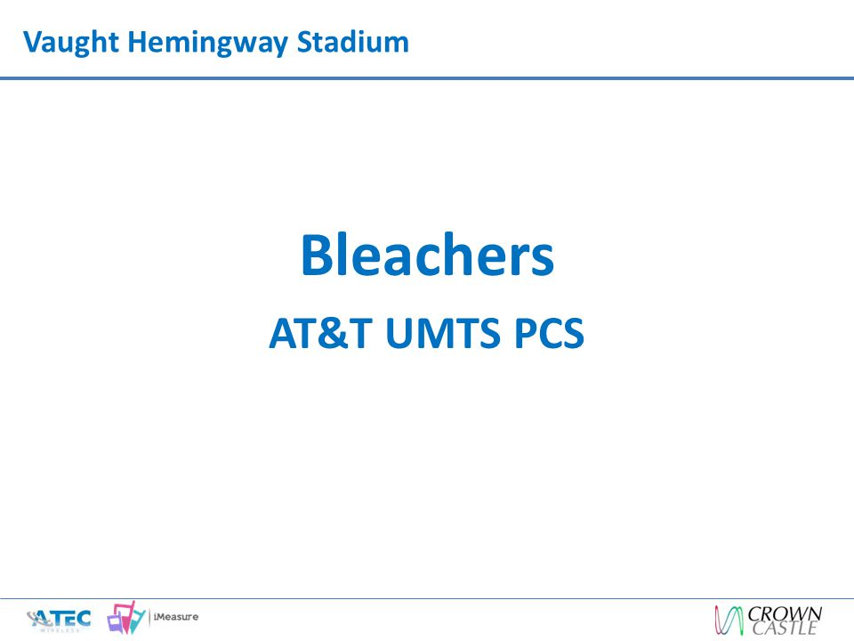 Vaught Hemingway Stadium Bleachers AT&T UMTS PCS