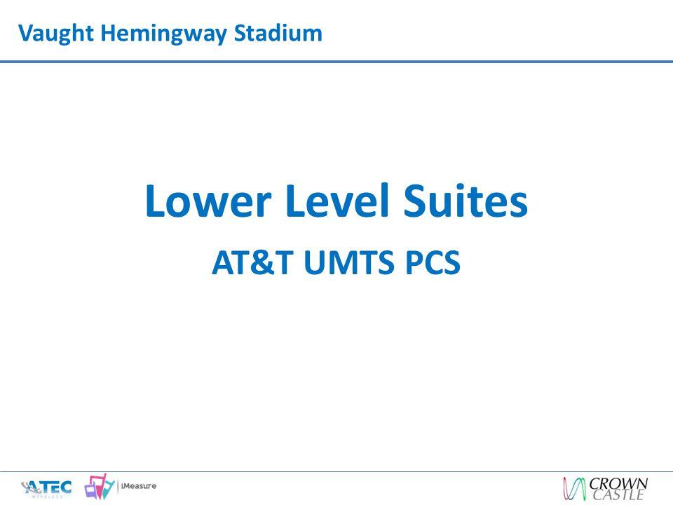 Vaught Hemingway Stadium Lower Level Suites AT&T UMTS PCS