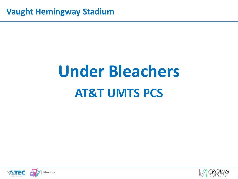 Vaught Hemingway Stadium Under Bleachers AT&T UMTS PCS