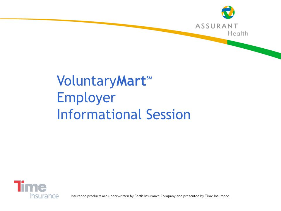 42 Term Life At-a-Glance Advantages VoluntaryMart is level term insurance – rates never increase with advancing age Unique product features included in base policy are:  Waiver of Premium  Accidental Death Benefit  Monthly Accelerated Benefit for long term disability  Death benefit restored after 5 years of recovery from long term disability