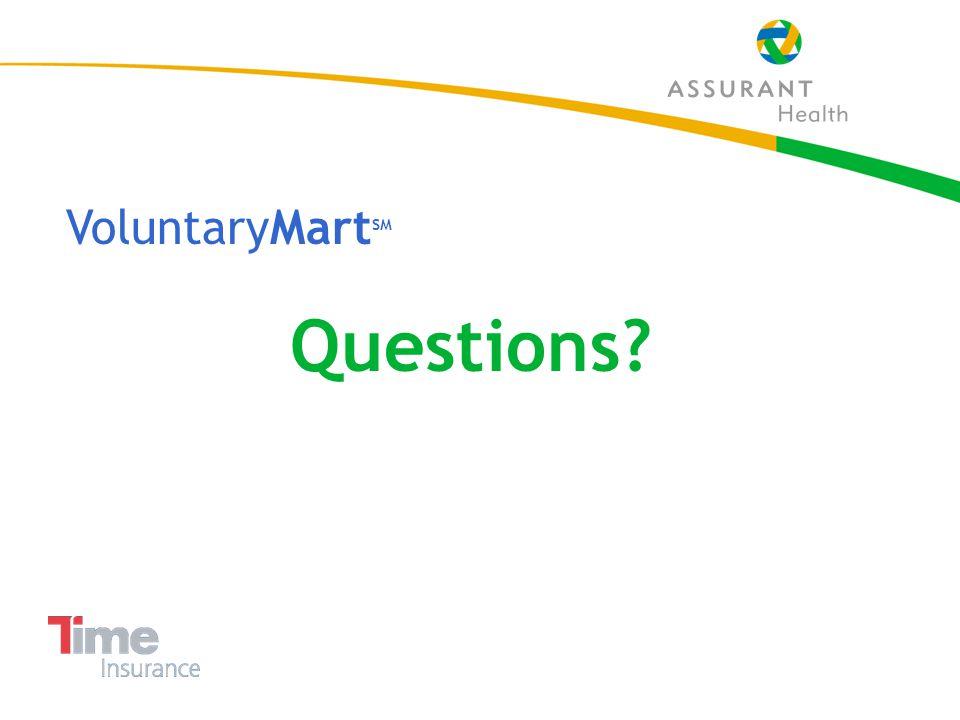46 VoluntaryMart SM Questions