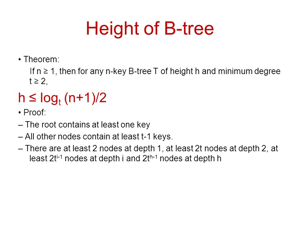 Comp 750, Fall 2009 B-Trees - 49 Deletion Cases (Continued) Subcase A: c i [x] has t–1 keys, some sibling has at least t keys.