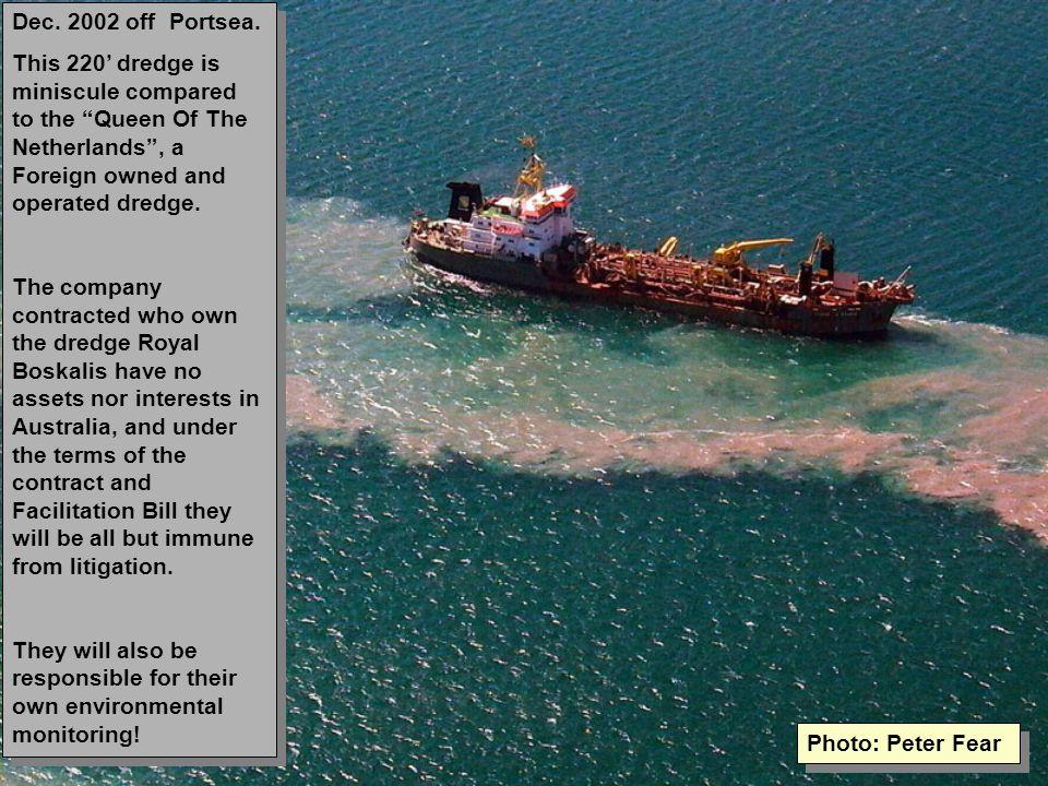 Dec. 2002 off Portsea.