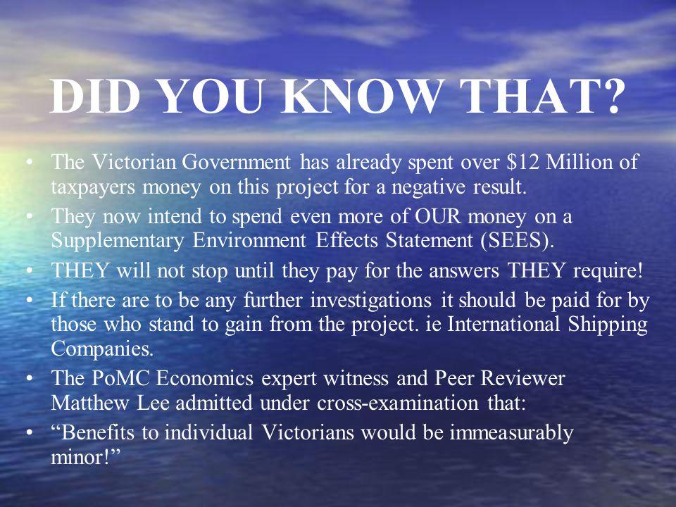 Exxon Valdez Prince William Sound Alaska DID YOU KNOW THAT.