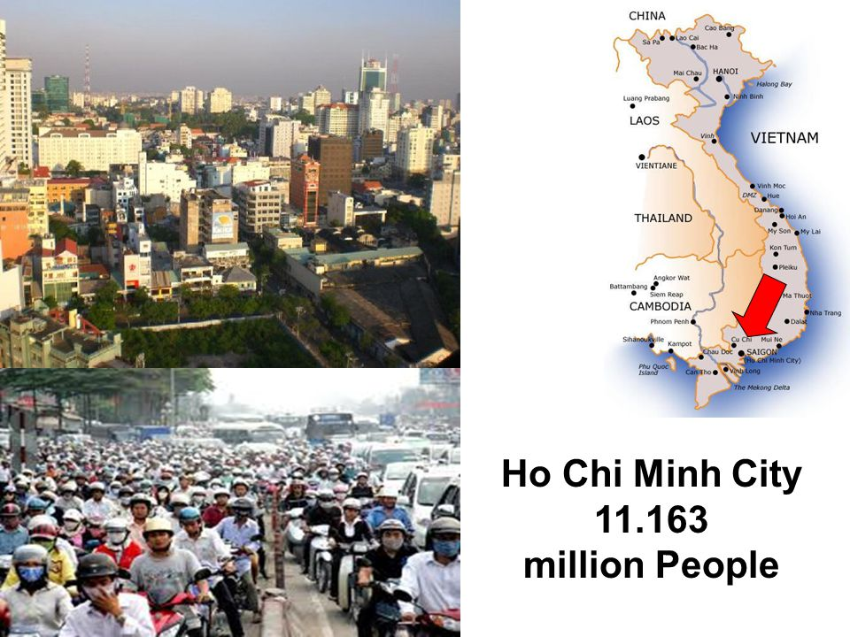 Ho Chi Minh City 11.163 million People