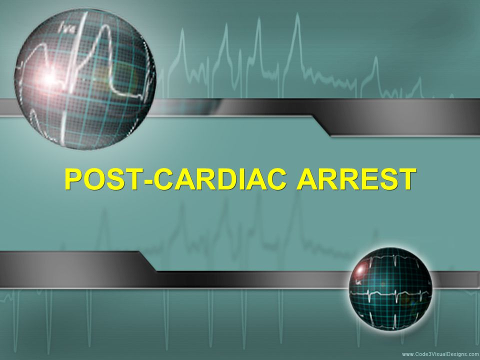 POST-CARDIAC ARREST