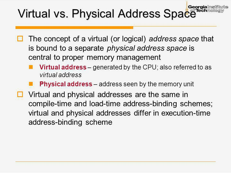 Multi-Level (Hierarchical) Page Table  Break up the virtual address space into multiple page tables  Increase the utilization and reduce the physical size of a page table  A simple technique is a two-level page table