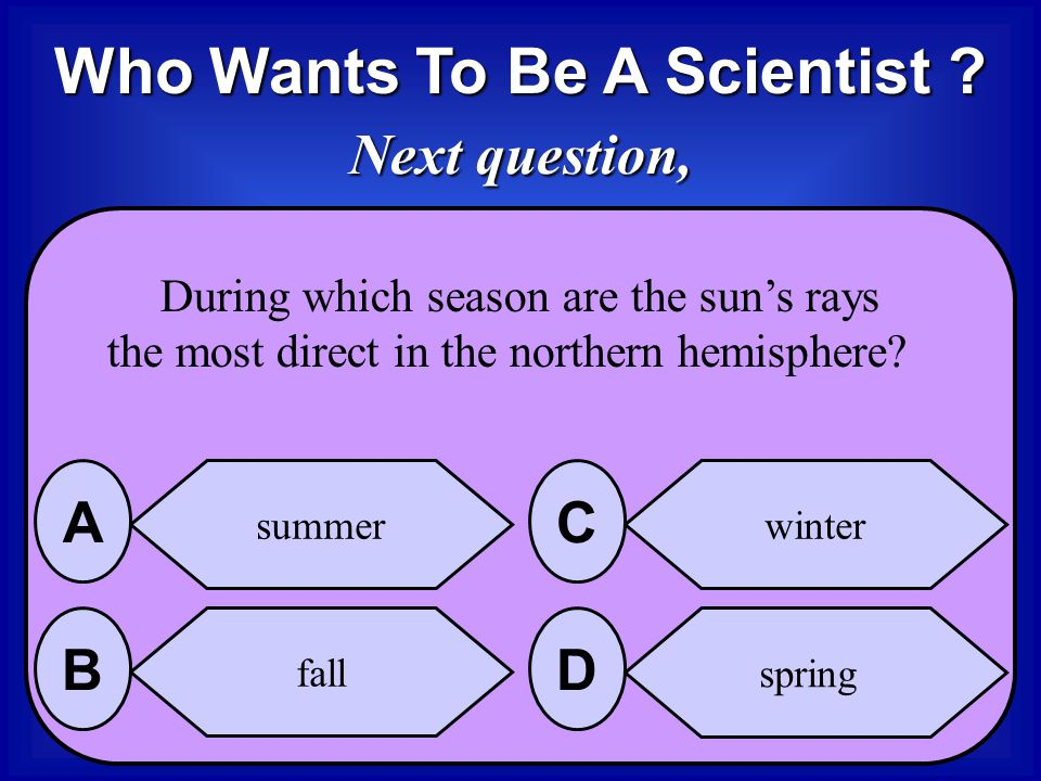 The Answer is it decreases D Less sunlight means less available energy so temperatures decrease in the northern hemisphere in the fall and winter mont