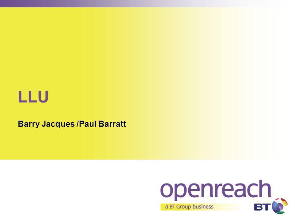 LLU Barry Jacques /Paul Barratt