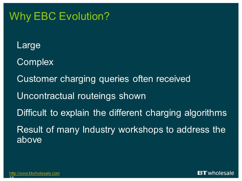 http://www.btwholesale.com http://www.btwholesale.com 10 Why EBC Evolution.