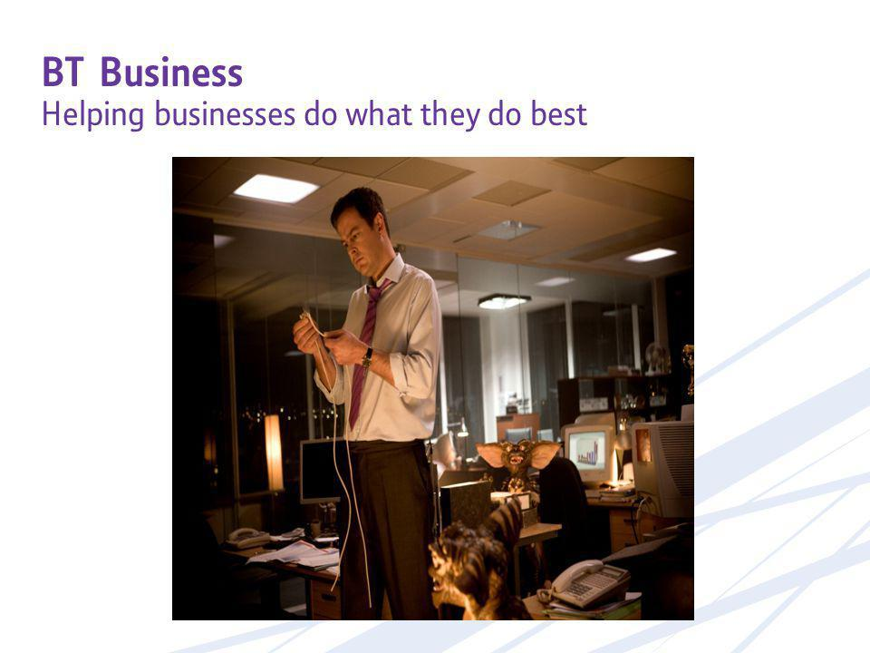 BT Business Helping businesses do what they do best