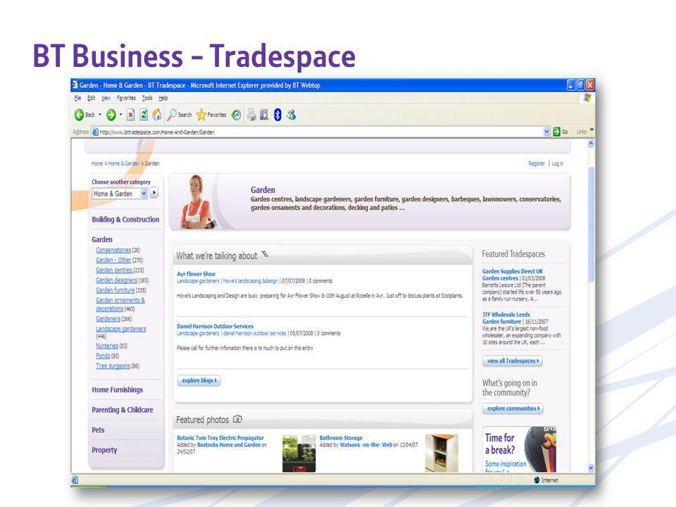 BT Business - Tradespace