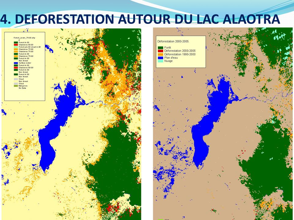 4. DEFORESTATION AUTOUR DU LAC ALAOTRA