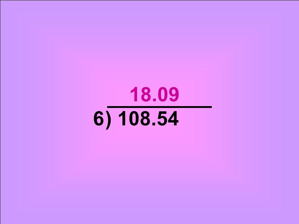 ) 108.546 18.09