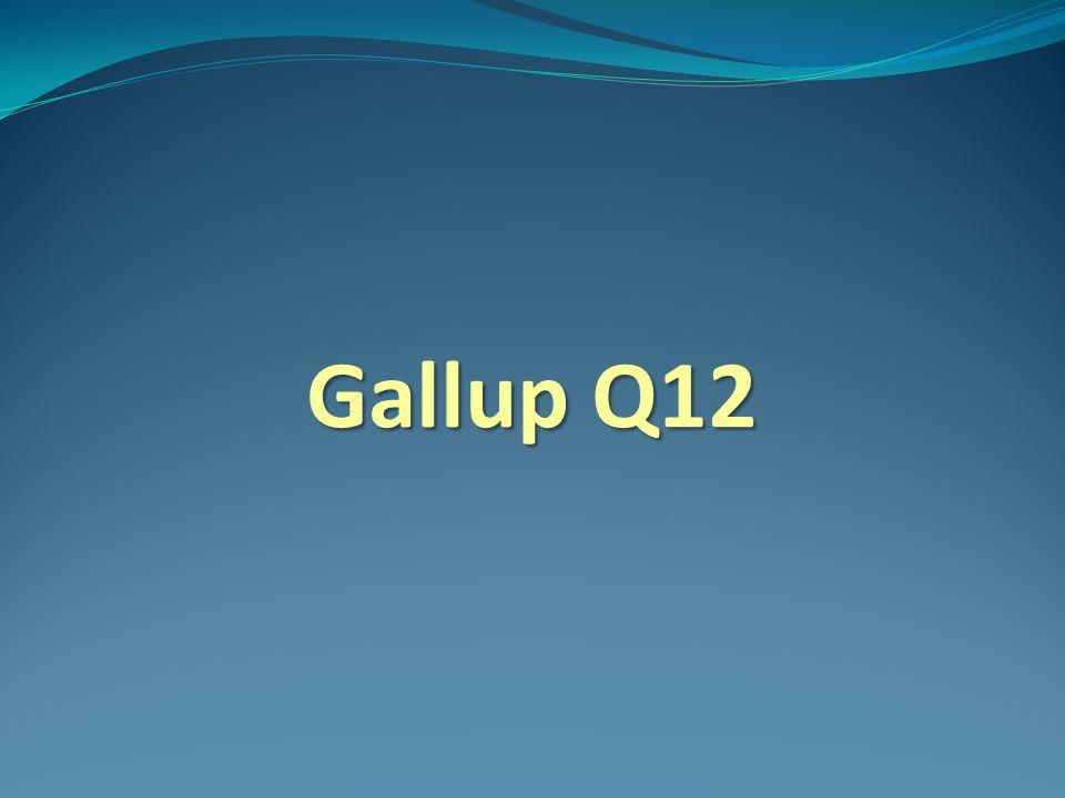 Gallup Q12