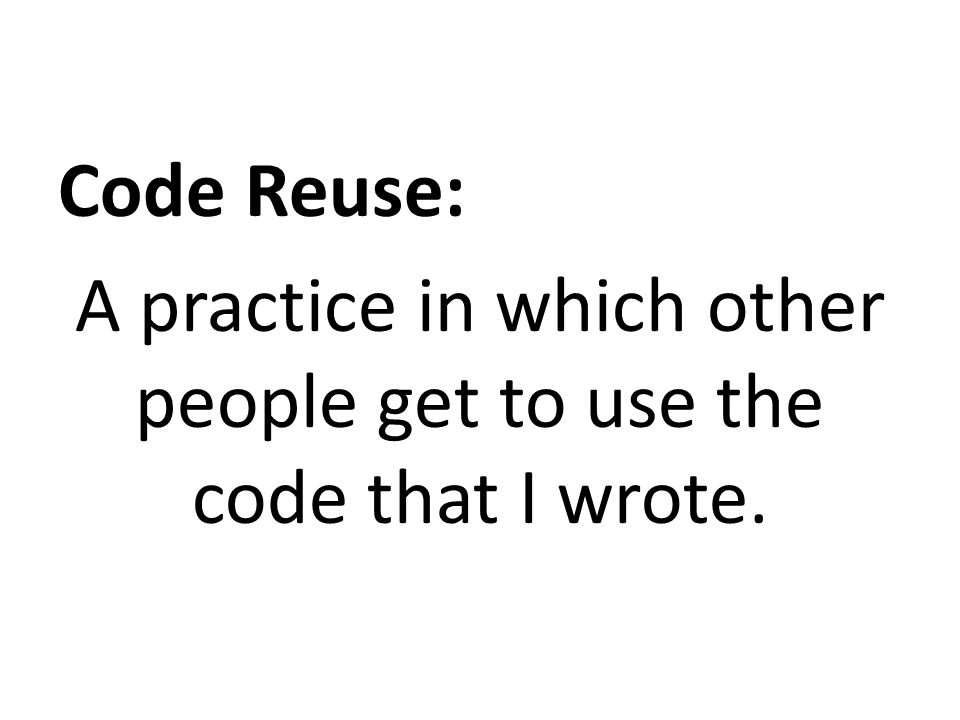 Aside: Is QCW same as CQRS.