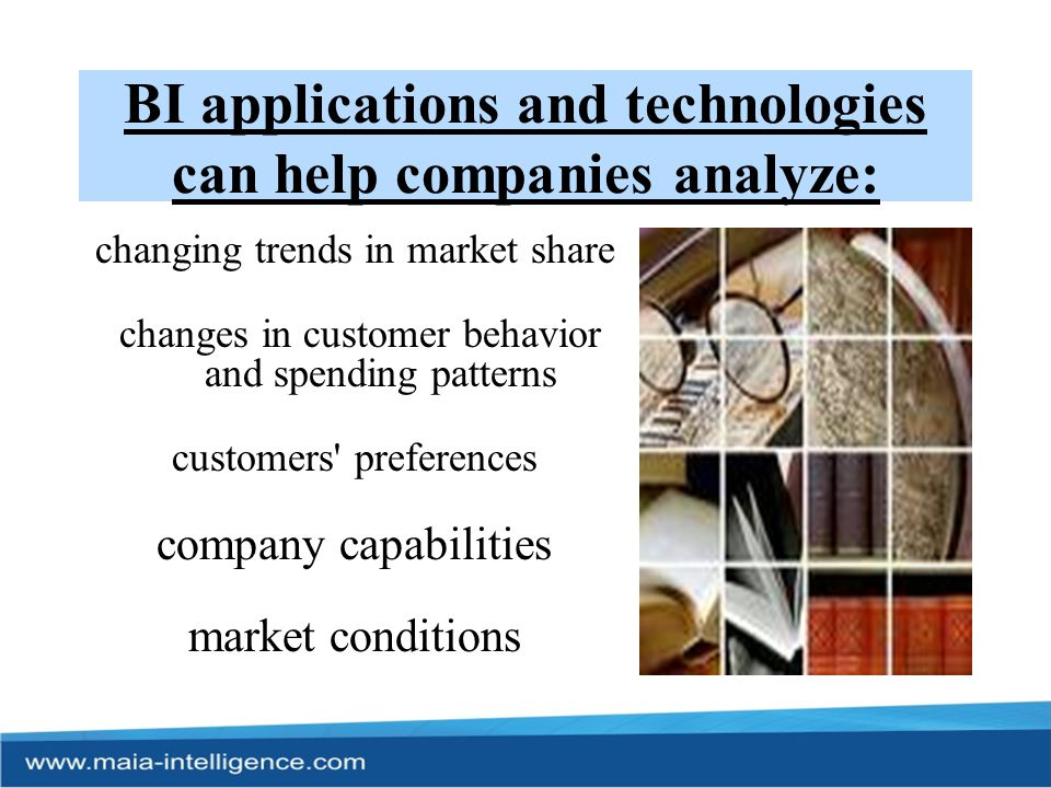 Significance of BI… To know about Customers Having access to timely and accurate information is an important resource for a company, which can expedite decision-making and improve customers experience.