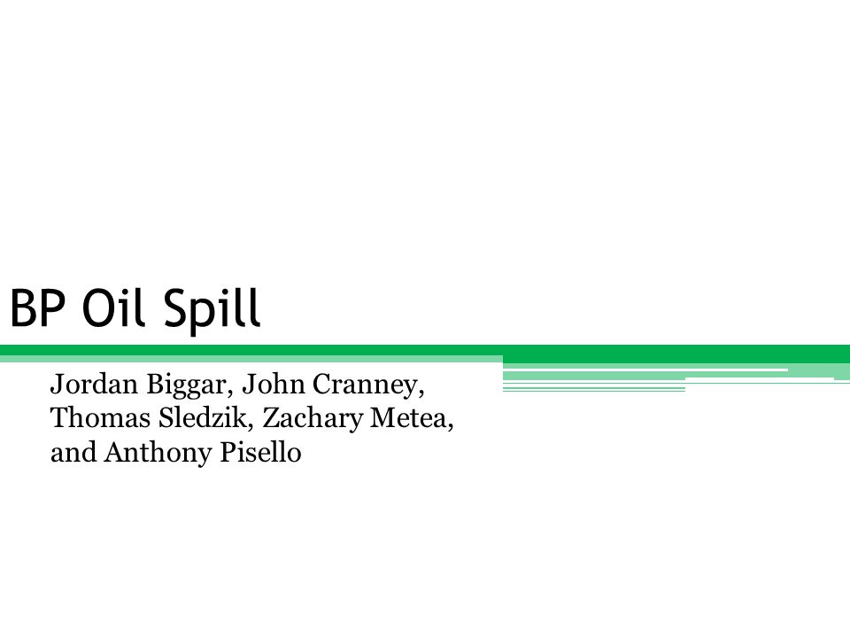 Public Criticism Here you can see just how much the public has reacted to the oil spill in the Gulf of Mexico The criticisms have not only come from the government and activists but are now coming from popular culture as well Tony Hayward CEO, BP