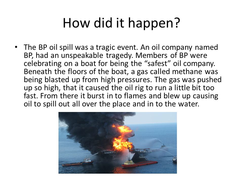 What is being done to stop the oil.