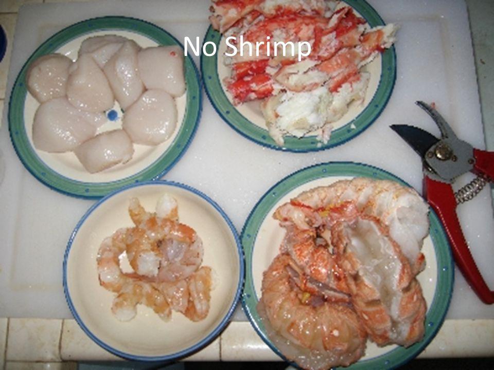 No Shrimp