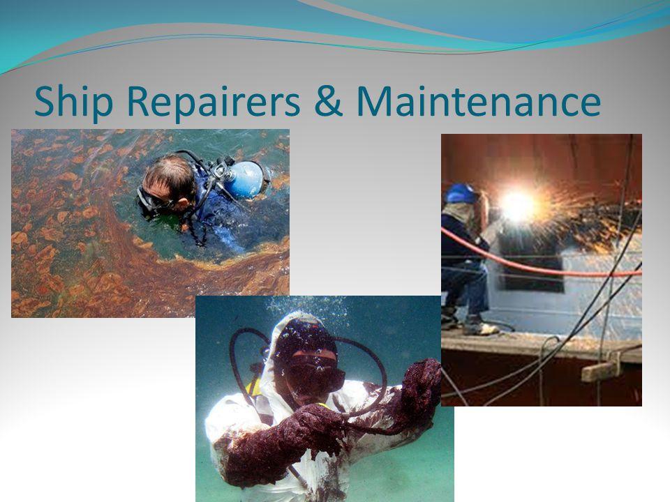 Ship Repairers & Maintenance