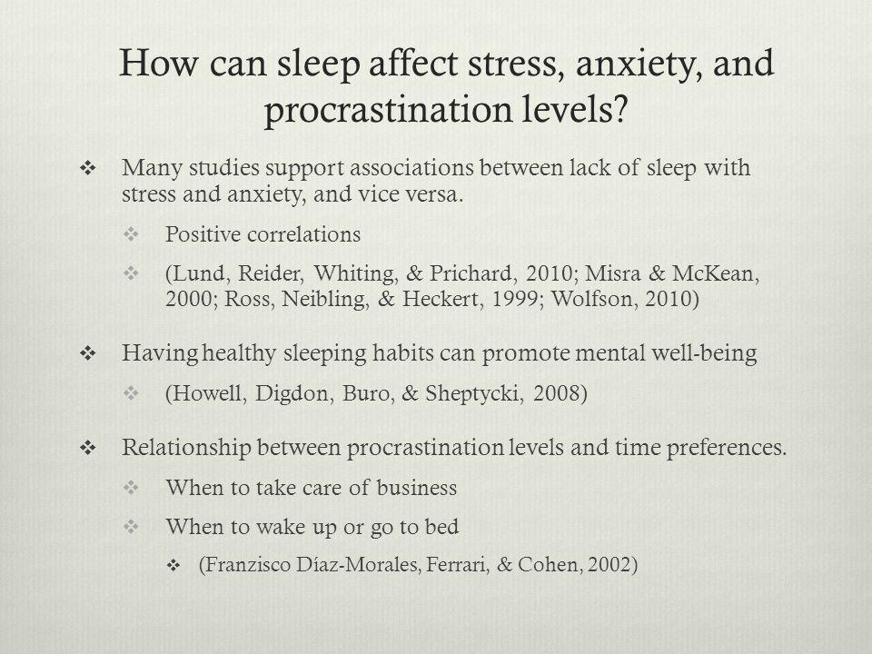 University Student Sleep Study  Participants:  University students 17- 24 years of age.