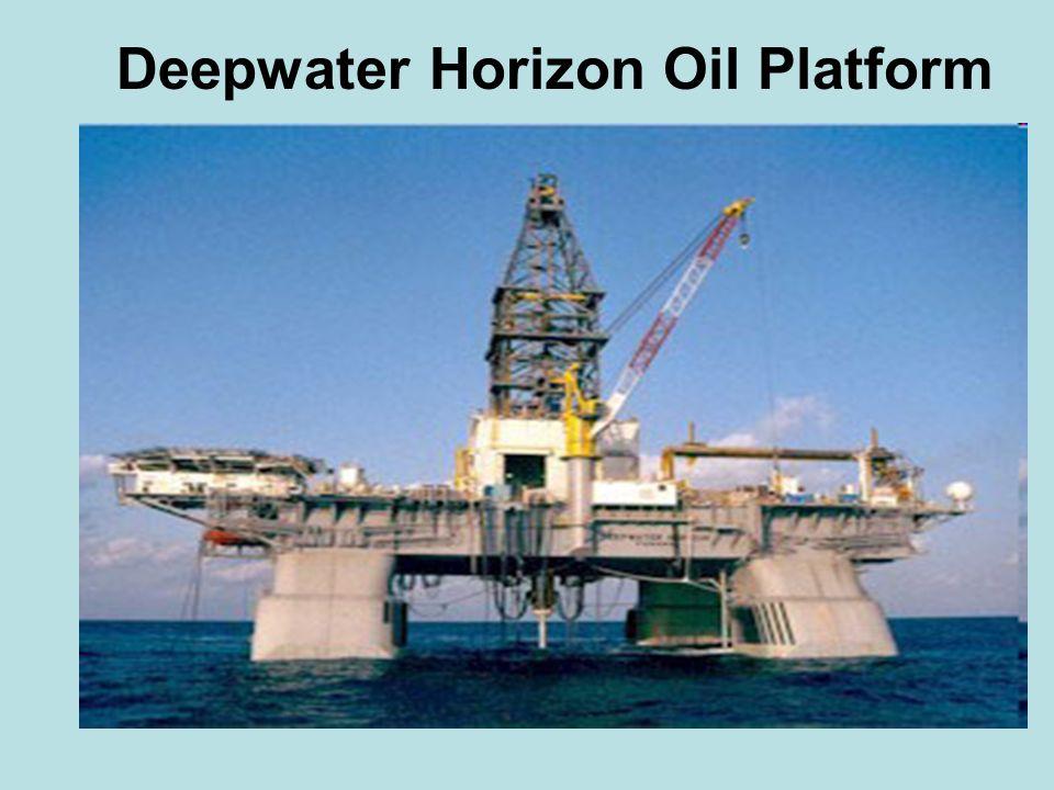 Deepwater Horizon Oil Platform