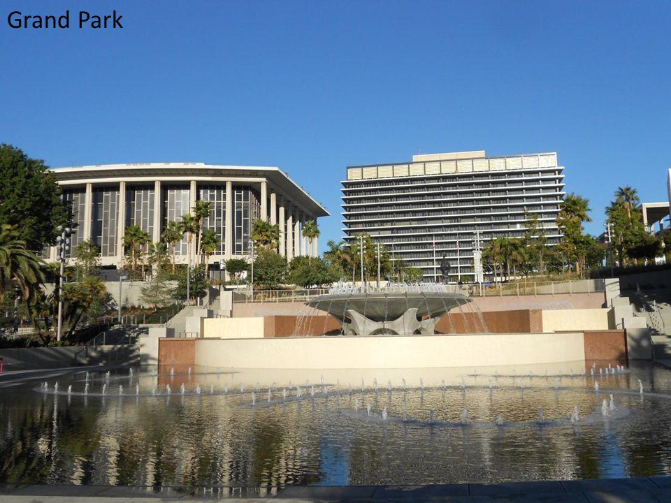 Dodger Stadium, City Hall and Down Town LA